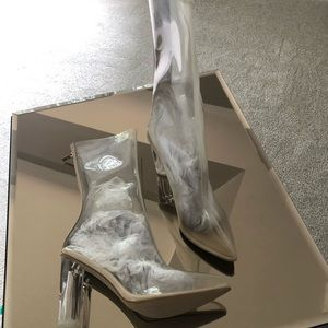 Ego clear bootie